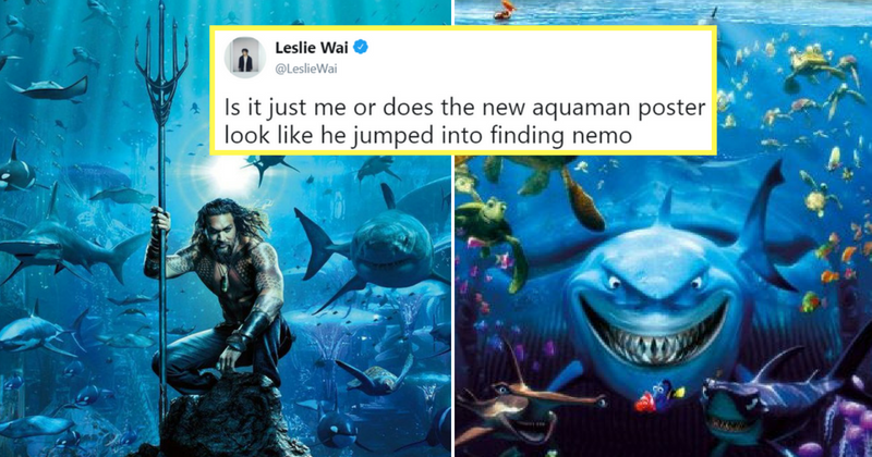1st poster of aquaman starring jason momoa is out people are 1st poster of aquaman starring jason momoa is out people are comparing it with finding nemo indiatimes altavistaventures Image collections