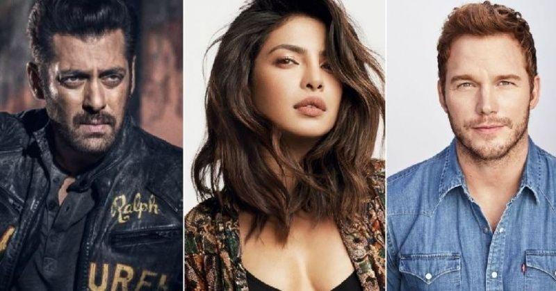 Image result for Priyanka Chopra signs Hollywood film Cowboy Ninja Viking with Chris Pratt after exiting Salman Khan's Bharat