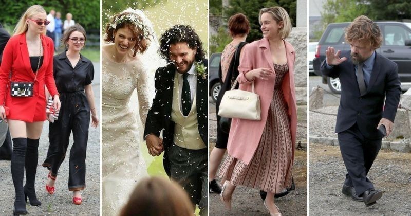 Game Of Thrones Stars Had A Mini Reunion At Kit Harington And Rose