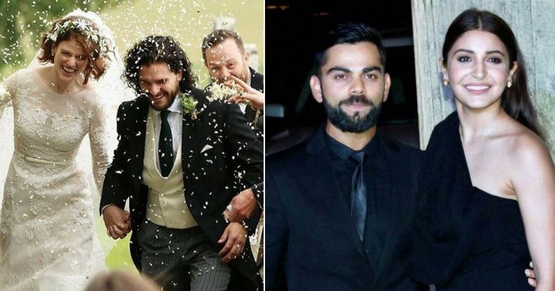 Kit Harington Rose Leslie Are Married Anushka Sharma Virat