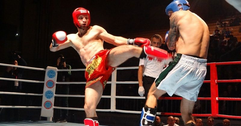 When You Get To Punch And Kick Your Opponent At The Same Time - The Tough World Of Kickboxing
