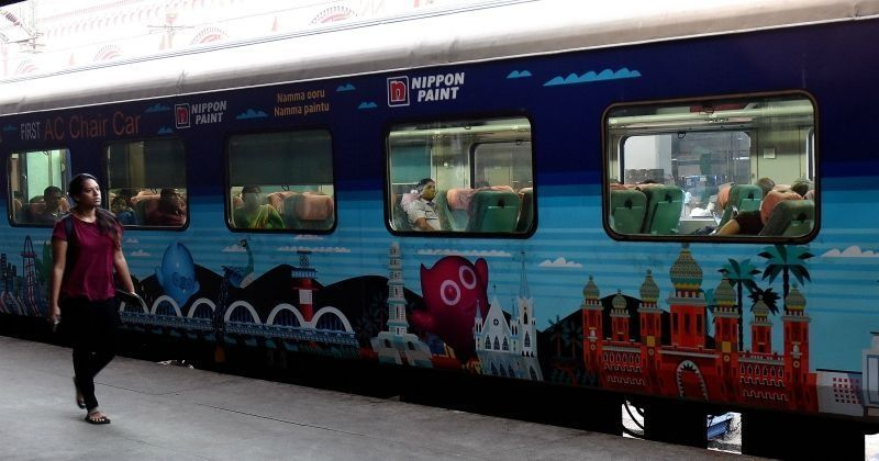 first make in india train which can run at 160 kmps to begin