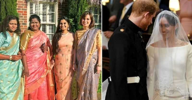 A Group Of Indian Activists Make Heads Turn By Attending The Royal Wedding In