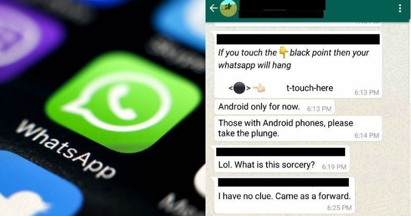 How Can Someone Crash Your WhatsApp With A Simple Black Spot? It's Actually Pretty Easy