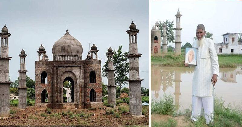 UP's Modern-Day 'Shah Jahan' Passes Away, To Rest Beside Wife's Grave At 'Taj Mahal' He Built thumbnail