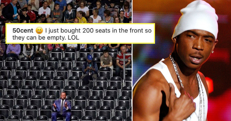 50 Cent Buys 200 Seats Of Ja Rule Concert To Make It Look Empty And Its Both Hilarious Sad Indiatimes Com