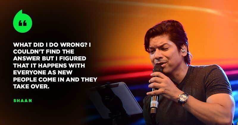 Singer Shaan Describes The Phase When He Was Out Of Work