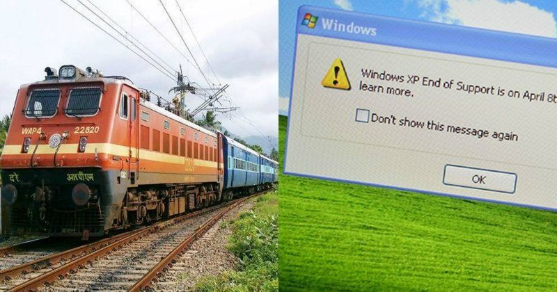 Irctc e-ticketing website will not work on windows xp: here's why.