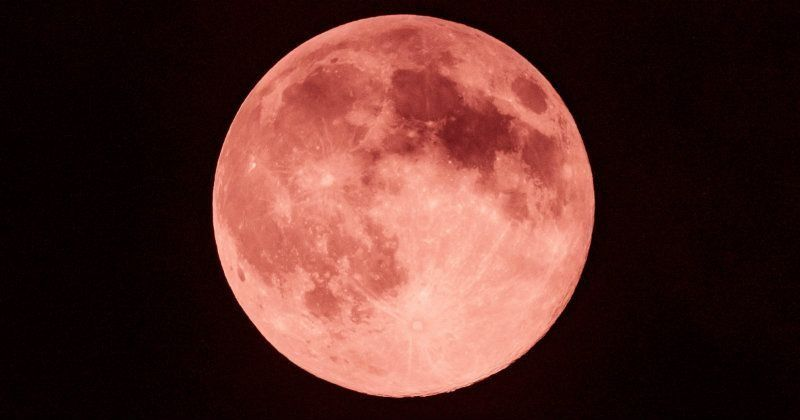 giant red moon tonight - photo #36