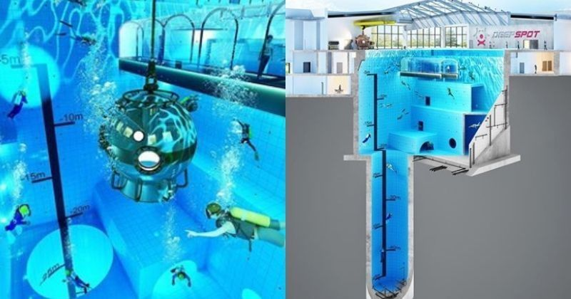 Swimming Pool At 147 6 Feet Poland Is All Set To Open The World 39 S Deepest And Scariest