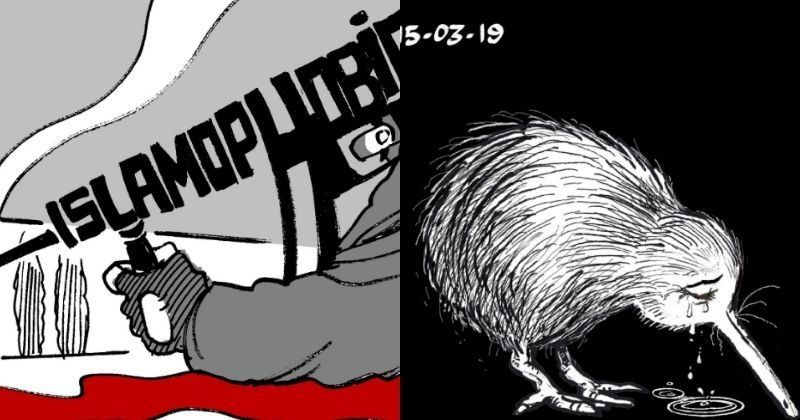 New Zealand Facebook: New Zealand Shooting:Here's How Cartoonists Around The