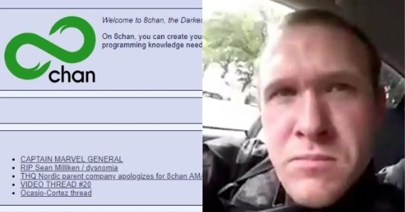 New Zealand Facebook: New Zealand Shooting:How 8chan Anonymous Message Board Was