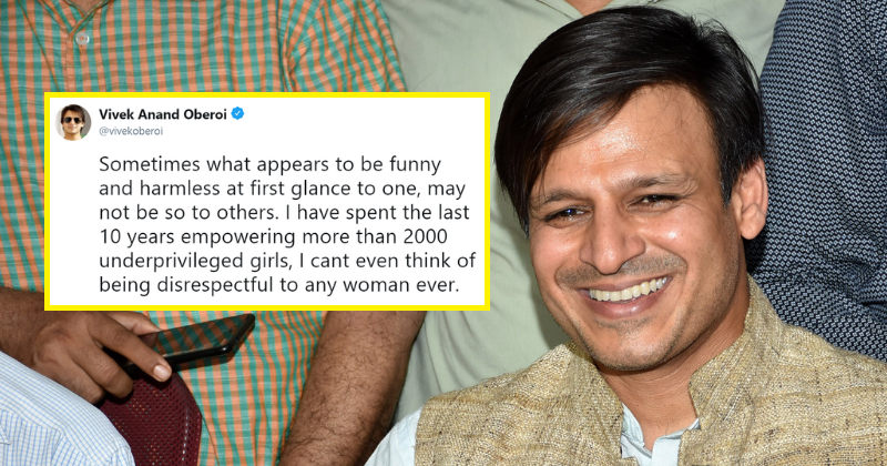 Image result for vivek oberoi not apologising on his tweet