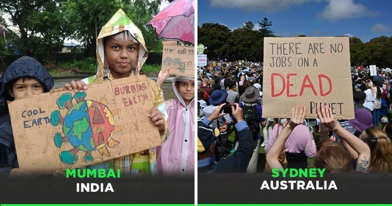 People Across Countries Have United In Fight Against Climate Change Ahead Of UN Summit & These Pictures Are Proof