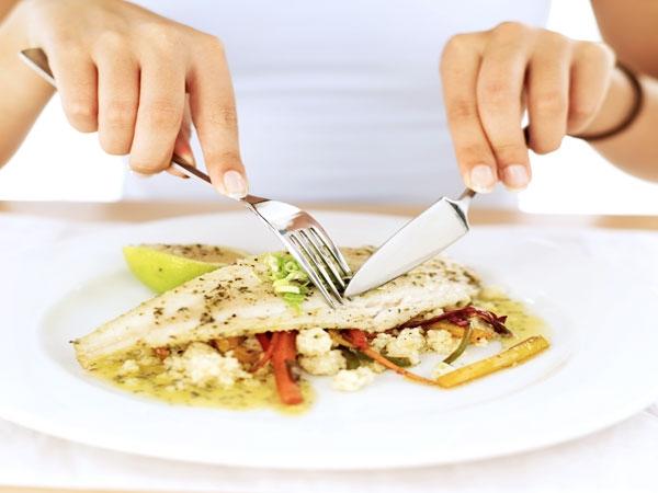 Lack of fish in regular diet