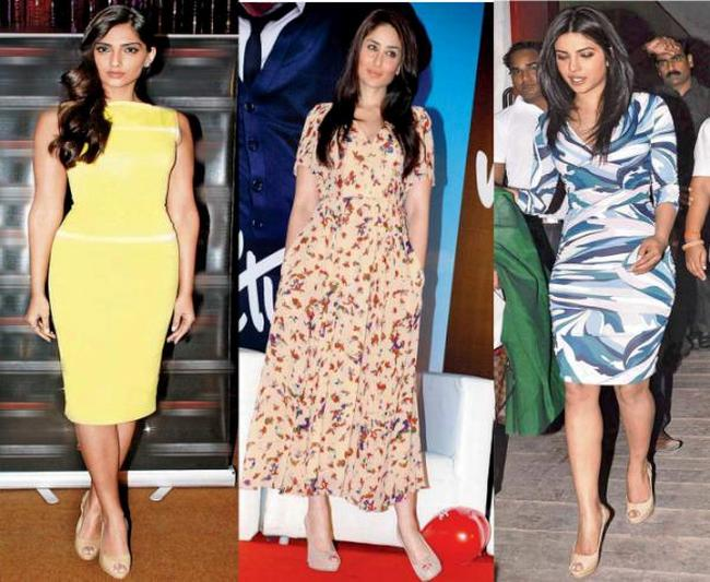 Sonam, Kareena, Priyanka