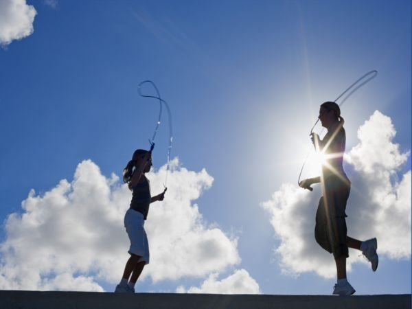 The humble skipping rope