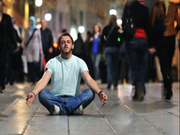 Yoga helps you meditate