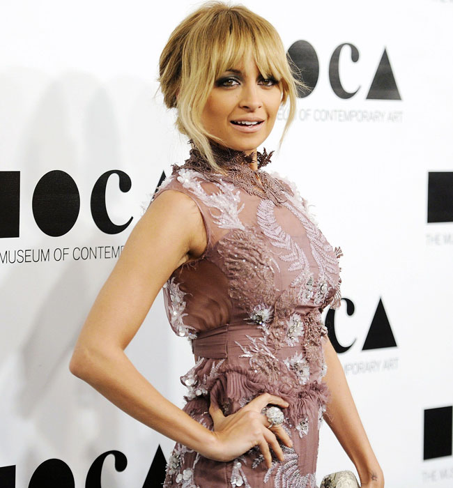 Nicole Richie attends the 2011 Museum of Contemporary Art (MOCA) Gala in Los Angeles