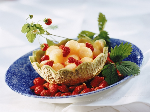 Spiced Mixed Fruit Salads