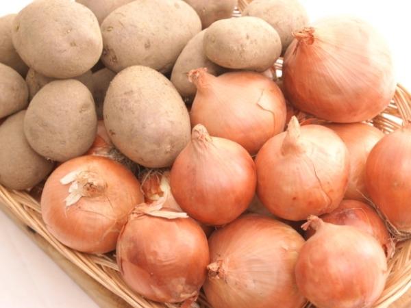 Apples, Onions, Potatoes