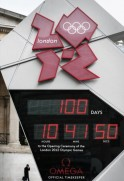 100 Days to go until the opening of the 2012 Olympics.