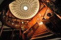 A replica of the grand staircase from the sunken Titanic
