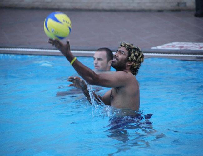 IN PICS: Mumbai Indians play fun games