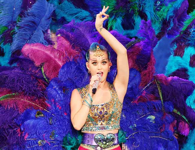 Katy Perry charms India