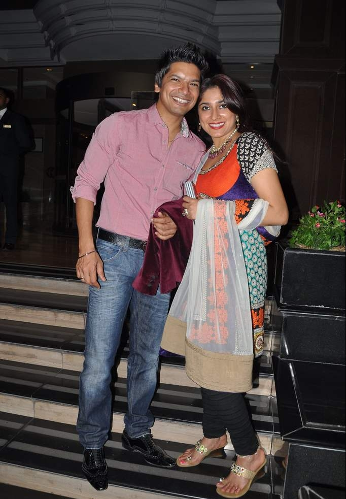 Sunidhi Chauhan and Hitesh Sonik