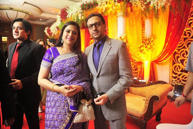 Gulshan Grover and Pratibha Advani