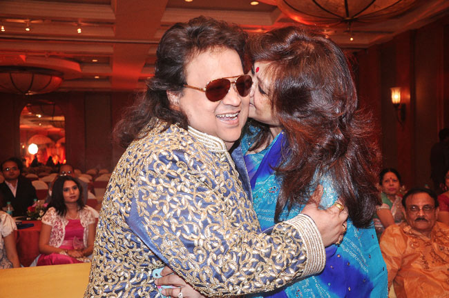 Munmun Sen and Bappi Lahiri