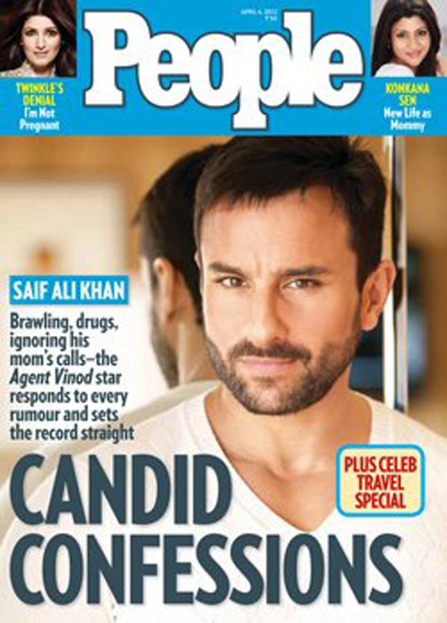 Saif Ali Khan on People