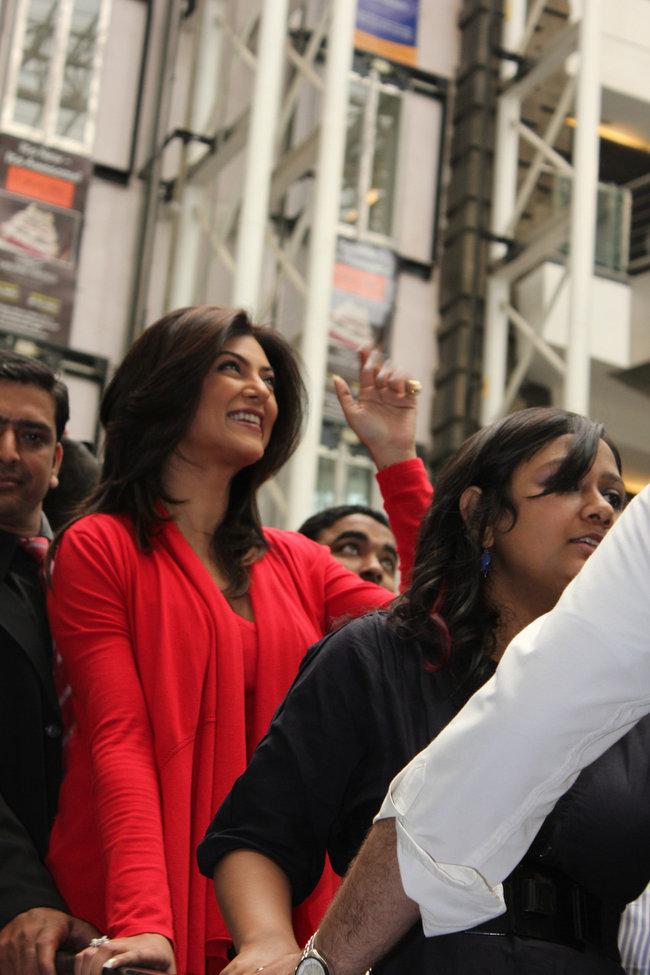 Sushmita Sen in Delhi