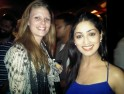 Yami Gautam with a fan