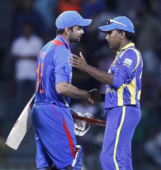 Virat Kohli & Jayawardene