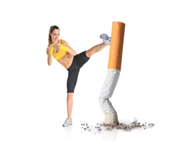 Take up exercises to quit smoking.