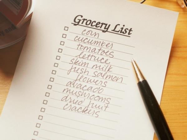Avoid Using a Shopping List