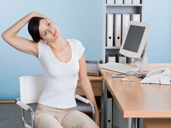 Avoid stiffness from hours of sitting – get stretching: