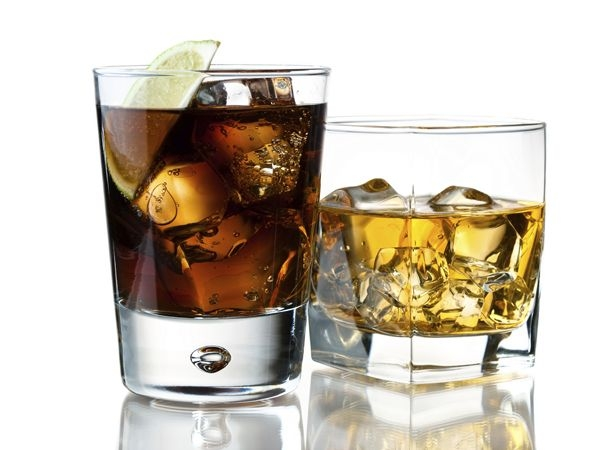 Rum and Diet Coke