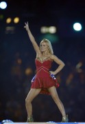 Geri Halliwell of the Spice Girls perfor