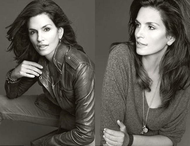 Cindy Crawford unveils her first fashion line for C&A