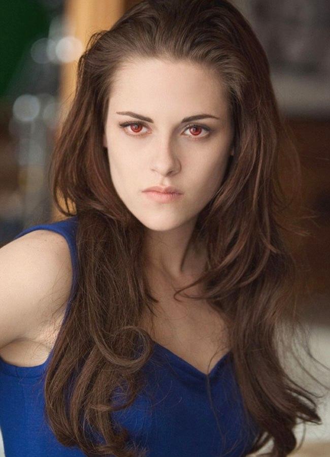 Kristen Stewart on the sets of Twilight: Breaking Dawn 2