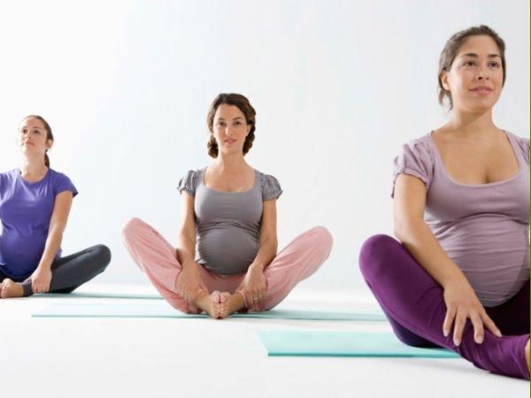 Can pregnant women practice yoga?