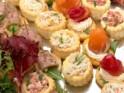 New Year's Party Snack Recipe # 9: Caramelized onion & shrimp bruschetta