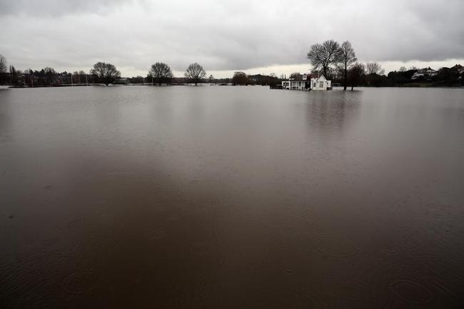 Heavy Rainfall Closes Out One Of UK