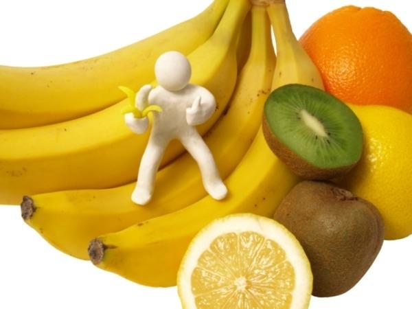 Fibre in fruits