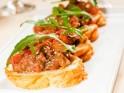 New Year's Party Snack Recipe # 4: Mediterranean crostini
