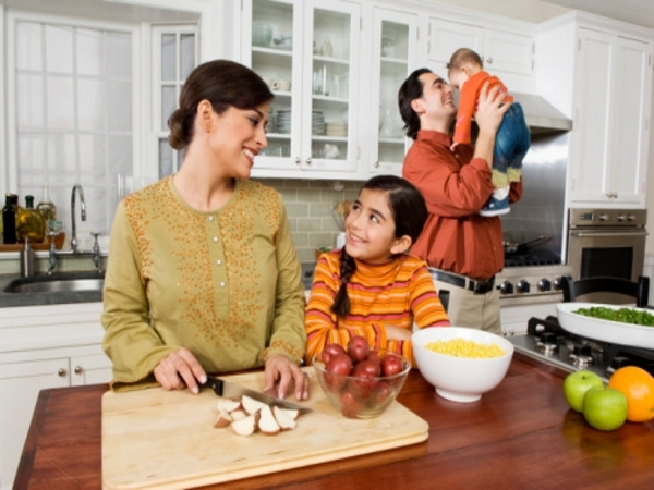 Stock your kitchen with healthy food