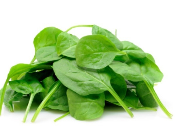 Good Cholesterol: Spinach